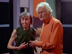Elaine and Robert Johnson