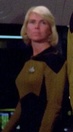 Female bridge officer, 2364