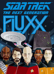 Star Trek TNG Fluxx box art
