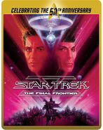 Star Trek V The Final Frontier Blu-ray cover Region B steelbook reissue