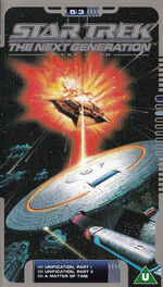 TNG 5.3 UK VHS cover