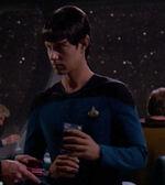 Vulcan science officer, 2365