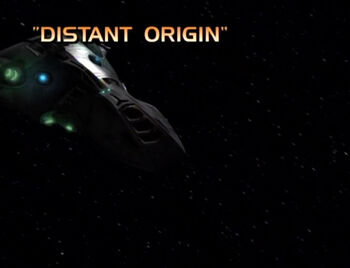 Distant Origin title card