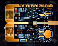 DVD-Menü TNG Staffel 4 Disc 5