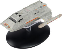 Eaglemoss USS Enterprise Passenger Shuttle Warrant