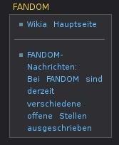 Fandom-Abschnitt
