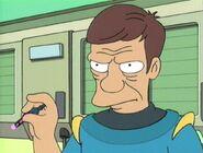 Futurama, Kif Gets Knocked Up A Notch, Veins McGee