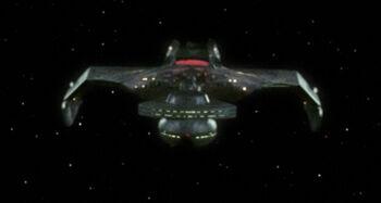K'Nera's battle cruiser