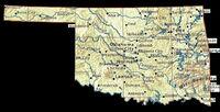 Oklahoma-mapa