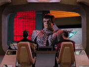 Romulan commander viewscreen 2366