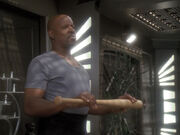 Sisko berichtet über Rivalität zu Solok