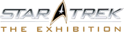 Star Trek The Exhibition logo