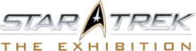 Star Trek The Exhibition logo