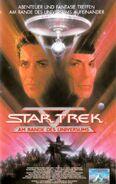 Star Trek V (Kinofassung - Kauf-VHS Frontcover)