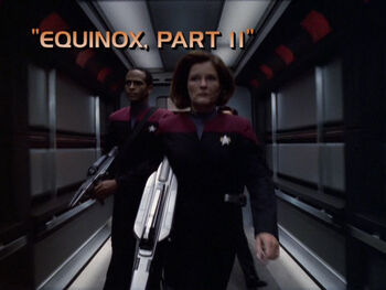 Equinox, Part II title card