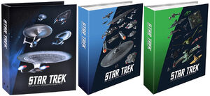 Eaglemoss Starships Collection exclusive binder