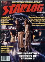 Starlog issue 033 cover