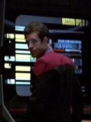 Sternenflottenoffizier Kommando Navigation 1 USS Voyager 2377