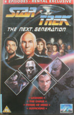 TNG Lessons The Chase Frame of Mind Suspicions UK rental video cover