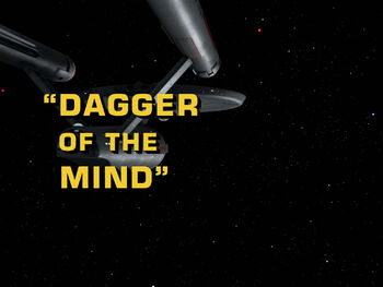 Dagger of the Mind title card