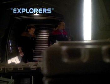 Explorers title card