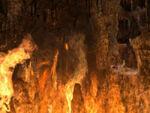 Brennende Feuerhöhlen