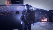 Chuck Yeager and Bell X-1 in ENT opening titles