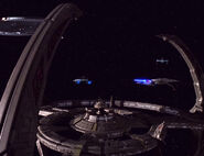 Federation-Bajoran ships at DS9-1