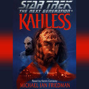Kahless audiobook cover, digital edition