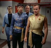 Kirk Spock personal guards