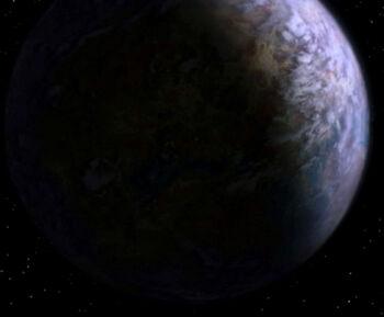 Mazar from orbit