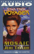 Mosaic audiobook cover, US cassette edition
