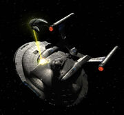 Romulan drone ship attacks Enterprise