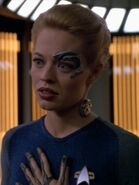 Seven of Nine als Gregory Bergans Mutter