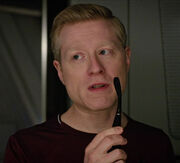 Stamets with toothbrush