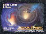 Star Trek Deep Space Nine - Series Premiere Card 45