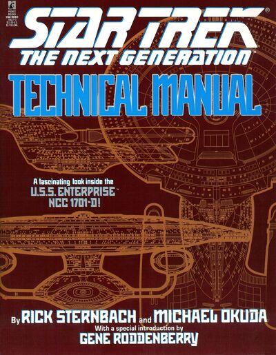 Star Trek The Next Generation Technical Manual (US Erste Ausgabe)