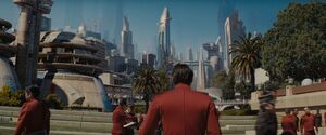 Starfleet Academy alternate universe 2258