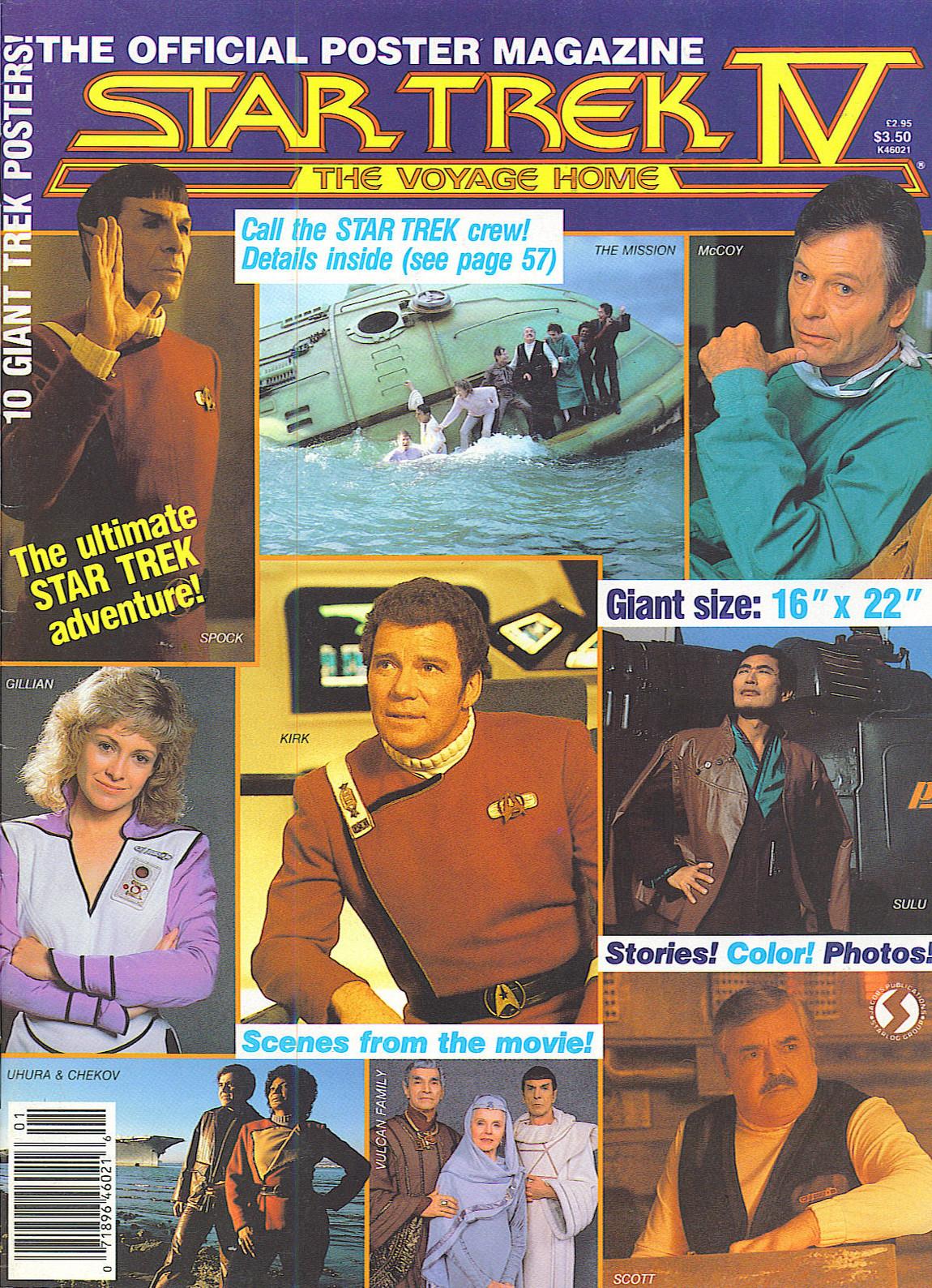 Voyage home poster magazine