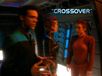 Crossover title card