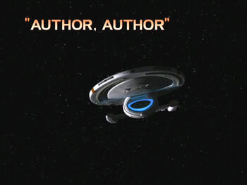 Author, Author title card