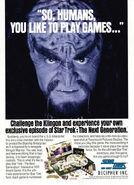 A Klingon Challenge advert