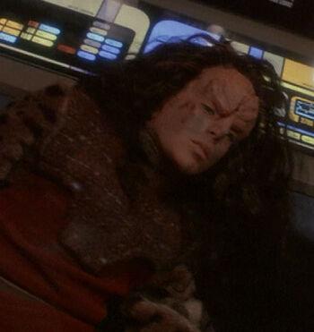 ...as a Klingon child