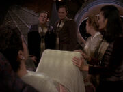Kira schmeißt Miles und Shakaar raus