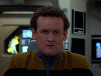 Miles O'Brien replicant (2370)