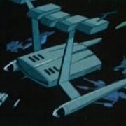 Raumschiff im Delta-Dreieck 24