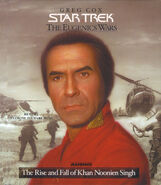 Rise and Fall of Khan Noonien Singh Volume 1 audiobook cover