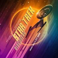 Star Trek Discovery Soundtrack Season 1 Chapters 1&2 Vinyl cover