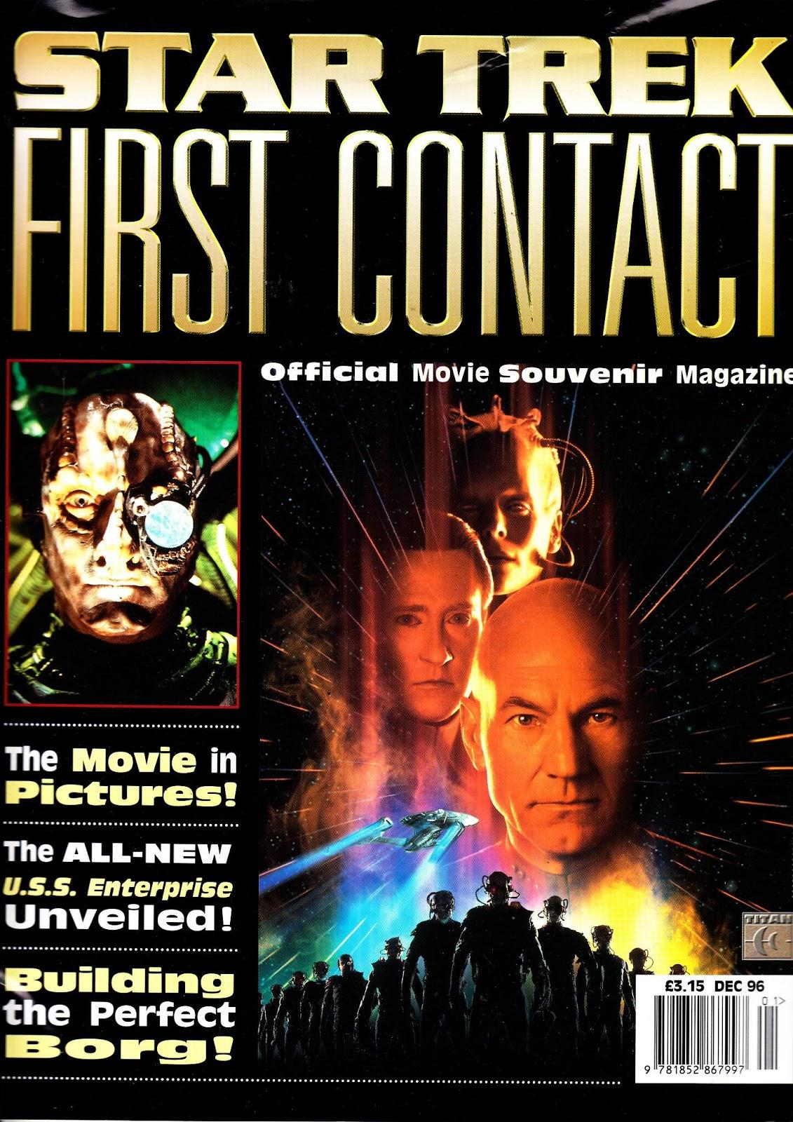 Star Trek First Contact Official Movie Magazine cover.jpg. Star Trek First  Contact Official Movie Magazine cover.jpg