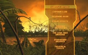 Star Trek The Wrath of Khan Director's Edition DVD Main Menu 2.jpg